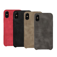 Soft leather phone Case for iPhone XS Max XR X 8 7 6 Retro L...