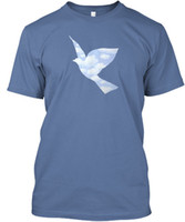 Surrealism Bird In The Style Of Magritte Hanes Tagless Tee T...