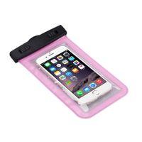 Evrensel Su Geçirmez Kılıfı Için iPhone 6/6 Artı Cep Telefonları için Su Geçirmez Kılıf Telefon Su Geçirmez Çanta Sualtı Yüzme