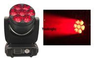 4 шт CE RoHS перемещение головки водить мытье луч света б глаза movinghead масштаб привело перемещение головы мини моет 7x40w RGBW 4в1