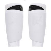 Relefree 1pair Football Jambières Conseil de haute qualité en tissu respirant coussin pour les genoux de soutien Brace Soccer Training Shin Pad Shin Guard