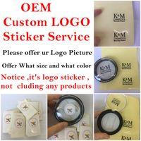 주문을위한 OEM 주문 로고 스티커 서비스에는 3D 밍크 속눈썹 자석 속눈썹 및 헤어 리무버의 소매 상자와 같은 자체 브랜드 패키지가 있습니다.