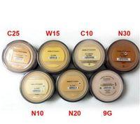 أعلى البائع المعادن مؤسسة فضفاضة مسحوق 8G C10 Fair / 8G N10 إلى حد ما إضاءة / 8G متوسط C25 / 8G متوسط البيج N20 / 9G المعادن الحجاب