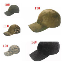 Camo Special Force Tactical Operator hat Baseball Hat Cap Baseball Style  Military Hunting Hiking Patch Cap Hat 350Pcs 8f19627af90