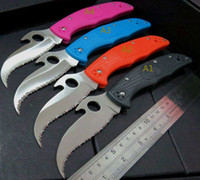 Hysenss C10 Endura 4 Karambit Tactical Folding Knife Serrate...