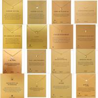 С картой Unicorn Pegasus Life - это волшебное подвесное ожерелье из ожерелья золото и серебро слон треугольник очарование кулон ожерелье мода ювелирные изделия