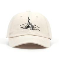 VORON vendita calda fumo ricamo berretto da baseball unisex moda papà cappelli donne sport hars uomini all'aperto casuali berretti per i viaggi