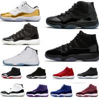 Kap ve Kıyafet 11 Balo Gece 11 S Xi Spor Red Concord 45 PRM Heiress Erkek Kadın Basketbol Ayakkabı Serin Gri Spor Sneaker 36-47