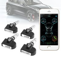 yre pressure monitoring system 4pcs Smart Bluetooth 4. 0 Auto...