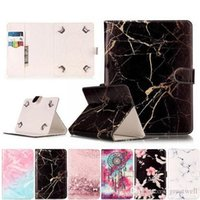 Universal 7 Inch 8 inhc 10 inch Tablet Cover Marble PU Leath...