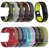 Silicone Replacement Band For Fitbit Charge 3 Heart Rate Sma...