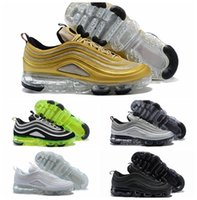 2018 New 97 Men Running Shoes Japan Silver Gold Bullet Tripl...