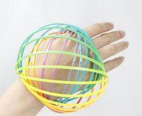 Regenbogen 3D Arm Flow Ring Spielzeug Kunststoff Toroflux Magic Ring Dekompression Spielzeug Kinder Kinder Geschenke GA275