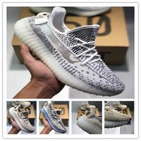 check out 7a026 f5e61 Nuevos llegados. nuevo Sply 350 V2 Mantequilla estática Beluga 2.0 Blue  Tint Cream White Bred Zebra Hombres Mujeres Kanye West Zapatos ...