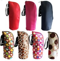 8 Colors Bottle Insulation Storage Bag Travel Portable Baby ...