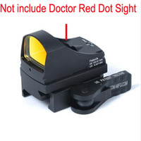 Nuovo Tactical Docter Mini Red Dot Sight Mount Full Co-Witness Mount con QD Auto Lock adatto a 20 Weaver Picatinny Rail