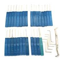 JSSY 28 قطعة Lock Lock Set - أدوات اختيار قفل صينية الصنع وبأسعار معقولة ومجموعات Lockpick للبيع