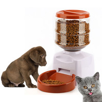 5.5l التلقائي كلب تغذية مع تسجيل صوتي شاشة lcd كبيرة الذكية الكلاب القطط الغذاء السلطانية موزع منتجات الحيوانات AAA260