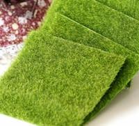 Nuovo micro paesaggio decorazione fai da te mini fata giardino simulazione piante artificiale finto muschio decorativo prato tappeto erboso erba verde