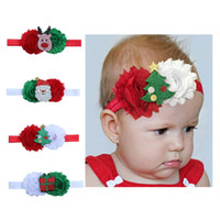 Christmas 4 colors Baby Girls Kids Lovely bowknot Hair hair ...