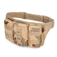 Camouflage Outdoor Riding Waist Bag Multifunction Tactical S...