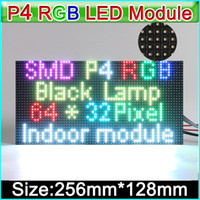 2017 NEW RGB P4 LED displays module, SMD 3 in 1 RGB P4 Indoo...