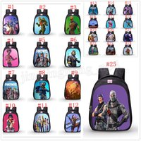 Fortnite cartoon school mochila Oxford cloth mochilas juego Fortnite Print Shoulders bolsa 25 colores MMA201
