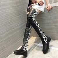 High Heels Women Long Thigh High Boot Over the knee Platform...