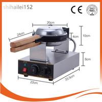220V / 110V Electric Rostfritt Stål Kommersiell Hem Använd 4PCS Vaffel på Stick Fisk Lolly Waffle Maker Machine