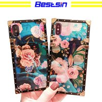 Bestsin New wave blue light flower shell, luxurious and gorg...