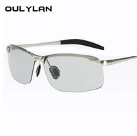 Oulylan Photochromic Sunglasses Men Polarized Chameleon Disc...