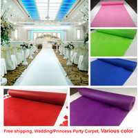 Wedding Party Carpet Rug Aisle Runner Decoration Nonwoven 80...