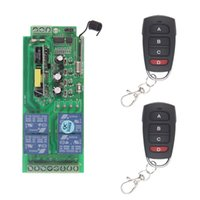 AC 85V-265V 110V 220V 230V 4 قناة 4CH الترددات اللاسلكية التحكم عن بعد ضوء نظام التبديل استقبال + الارسال