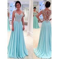 Elegant Tulle A Line Prom Dresses Sweetheart Applique Floor ...
