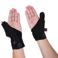 AOLIKES Ajustável Médico Esporte Thumb Spica Splint Suporte Suporte Estabilizador Pulso Sportwear