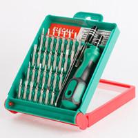 33 in 1 set di cacciaviti intercambiabile torx pinzette kit di riparazione di estensione tool box per notebook portatile pc cameral watch phone