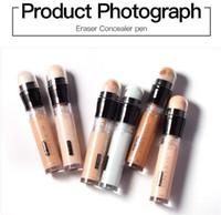 Профессиональный пудайер лицо консилер крем макияж карандаш для глаз нос макияж инструмент косметический порошок консилер с 6 цветов для выбора