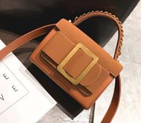 2017 Autumn Fashion Light Big Lock Decoration Shoulder Bag W...