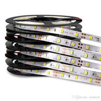 Yüksek parlaklık led şerit SMD 5050 2835 5630 DC12v esnek led şerit ışıkları su geçirmez 60LED / metre 300LED 5 metre / rulo IP65 ışıklar şeritleri