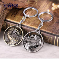 Dragon Keychain Hot Game Mortal Kombat Llavero Metal Key Holder para regalo Chaveiro Llavero Jewelry for cars