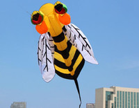고품질 3M 꿀벌 부드러운 연 소형 카이트 컨트롤 바 라인 다이아몬드와 함께 장난감 페이셜 공룡 연 릴 퀸 연 크리스마스 야외 장난감