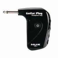 NUX GP-1 Draagbare Elektrische Gitaarversterker Amp Hoofdtelefoon Amp Ingebouwde Vervorming Effect Gitaar Stekkerversterker voor Silence Paly