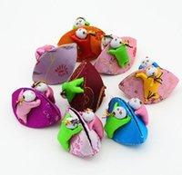 200 pz gioielli display organizer gioielli ricamo sacchetto cinese stile monete contenitore di monili per imballaggio del regalo SN1386