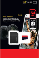 Extreme PRO microSDXC 128 GB 64 GB 32 GB Classe 10 U3 95 MB / s V30 A1 Scheda UHS-I con Adapte