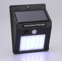 Factory direct sale solar energy lamps outdoor motion sensor...