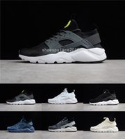 2019 Triple White Black Huarache 4. 0 1. 0 Running Shoes Mens ...