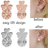 New Fashion Clover Magic Bax Earring Backs Support Earring L...