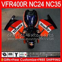 RVF400R für HONDA VFR400 R NC24 V4 VFR400R 87 88 94 95 96 81HM19 RVF VFR 400 R NC35 VFR 400R 1987 1988 1994 1995 1996 Repsol blau Fairings