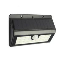 20 LED 태양 광 구동 램프 비바람에 견디는 녹색 LED가 벽 운동 야외 정원 테라스 차도 사용