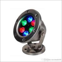 غير القابل للصدأ huosing IP68 LED RGB تحت الماء ضوء المناظر الطبيعية مصباح لبركة بركة نافورة الساحة للماء في الهواء الطلق ضوء